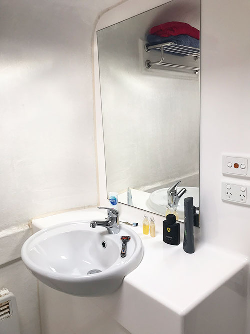Portable Toilet Hire with Vanity